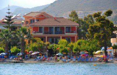 Lefkas, hotel Eva Beach